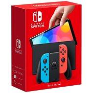 Herní konzole Nintendo Switch (OLED model) Neon blue/Neon red