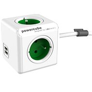PowerCube Extended USB Green - Power Adapter