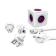 PowerCube Rewirable + Travel Plugs + IEC kabel - Napájecí adaptér