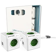 Allocacoc PowerCube Original USB + Extended USB Gift Set