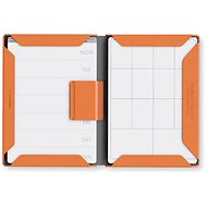 PowerCube Modular NoteBook A4 - oranžový PU - Zápisník