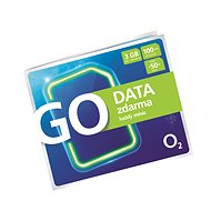 SIM karta O2 Předplacená karta GO Data Zdarma - SIM karta