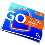 O2 Předplacená karta GO Volání Zdarma