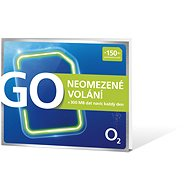 SIM karta O2 Předplacená karta GO Neomezeně