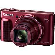 Canon PowerShot SX720 HS červený - Digitální fotoaparát
