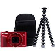 Canon PowerShot SX720 HS červený Travel Kit - Digitální fotoaparát