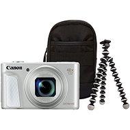 Canon PowerShot SX730 HS stříbrný Travel Kit - Digitální fotoaparát