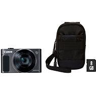 Canon PowerShot SX620 HS černý Essential Kit - Digitální fotoaparát