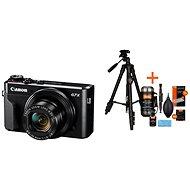 Canon PowerShot G7 X Mark II + Rollei Foto Starter Kit 2 - Digitální fotoaparát