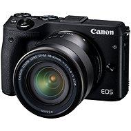 Canon EOS M3 černý + objektiv EF-M 18-55 mm - Digitální fotoaparát