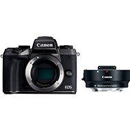 Canon EOS M5 tělo černý + adaptér EF-EOS M - Digitální fotoaparát