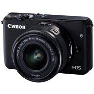 Canon EOS M10 Black + EF-M 15-45mm F3.5 - 6.3 IS STM - Digitální fotoaparát