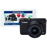 Canon EOS M10 Black + EF-M 15-45mm F3.5 - 6.3 IS STM + Alza Foto Starter Kit