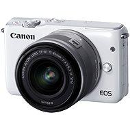 Canon EOS M10 White + EF-M 15-45mm F3.5 - 6.3 IS STM - Digitální fotoaparát