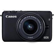 Canon EOS M100 černý + M15-45mm stříbrný - Digitální fotoaparát