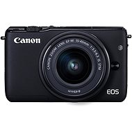 Canon EOS M100 černý + M15-45mm stříbrný + IRISTA - Digitální fotoaparát