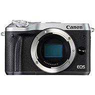 Canon EOS M6 tělo stříbrný - Digitální fotoaparát