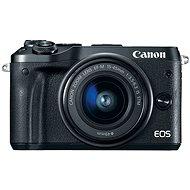Canon EOS M6 černý + EF-M 15-45mm - Digitální fotoaparát