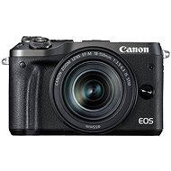 Canon EOS M6 černý + EF-M 18-150mm - Digitální fotoaparát