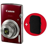 Canon IXUS 185 červený Essential Kit - Digitální fotoaparát