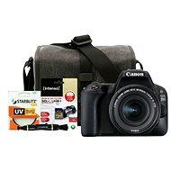 Canon EOS 200D černý + 18-55mm IS STM + Canon Starter Kit - Digitální fotoaparát