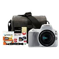 Canon EOS 200D bílý + 18-55mm IS STM + Canon Starter Kit - Digitální fotoaparát