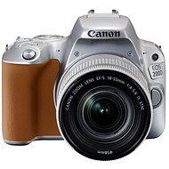 Canon EOS 200D stříbrný + 18-55mm IS STM - Digitální fotoaparát