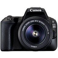 Canon EOS 200D černý + 18-55mm DC III