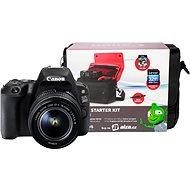 Canon EOS 200D černý + 18-55mm DC III + Canon Starter Kit - Digitální fotoaparát