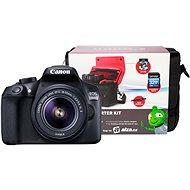 Canon EOS 1300D + EF-S 18-55mm IS II + Canon Starter Kit - Digitální fotoaparát