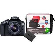 Canon EOS 1300D + EF-S 18-55mm IS II + baterie LP-E10 + Canon Starter Kit - Digitální fotoaparát