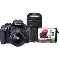 Canon EOS 1300D + 18-55mm DC III + 75-300m DC III + Canon Starter Kit - Digitální fotoaparát