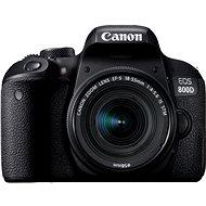 Canon EOS 800D černý + 18-55mm IS STM - Digitální fotoaparát
