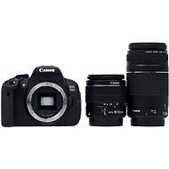 Canon EOS 700D + EF-S 18-55mm DC III + 75-300mm DC III - Digitální zrcadlovka