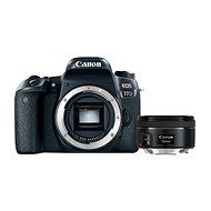 Canon EOS 77D + Canon 50mm f/1.8 - Digitální fotoaparát