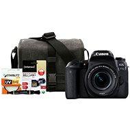 Canon EOS 77D černý + 18-55mm IS STM + Canon Starter Kit - Digitální fotoaparát