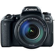 Canon EOS 77D černý + 18-135mm IS USM  - Digitální fotoaparát
