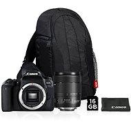 Canon EOS 77D černý + 18-135mm IS USM Value Up Kit - Digitální fotoaparát