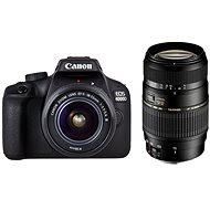 Canon EOS 4000D + 18-55mm DC III + Tamron 70-300mm Di Macro