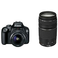 Canon EOS 4000D + 18-55mm DC III + 75-300mm DC III - Digitální fotoaparát
