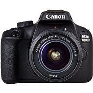 Canon EOS 4000D + EF-S 18-55mm DC III + EF 75-300mm DC III - Digitální fotoaparát
