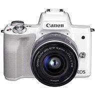 Canon EOS M50 bílý + EF-M 15-45 mm IS STM - Digitální fotoaparát