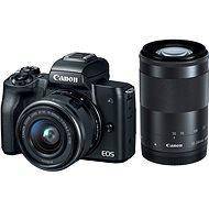 Canon EOS M50 černý + EF-M 15-45 mm IS STM + EF-M 55-200 mm - Digitální fotoaparát