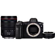 Canon EOS R + RF 24-105 mm L USM + EF-EOS R adaptér - Digitální fotoaparát