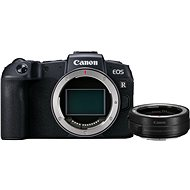Canon EOS RP černý + EF-EOS R adaptér - Digitální fotoaparát