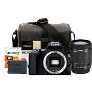 Canon EOS 250D černý + EF-S 18-55mm IS STM + LP-E17 + Canon Starter Kit 58mm - 32GB