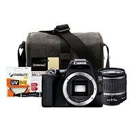 Canon EOS 250D černý + 18-55mm DC III + Canon Starter Kit 58mm - 32GB