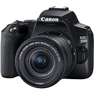 Canon EOS 250D černý + 18-55mm IS STM