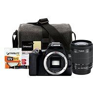 Canon EOS 250D černý + 18-55mm IS STM + Canon Starter Kit 58mm - 32GB - Digitální fotoaparát