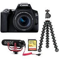 Canon EOS 250D černý + 18-55mm IS STM Vlogger Kit - Digitální fotoaparát